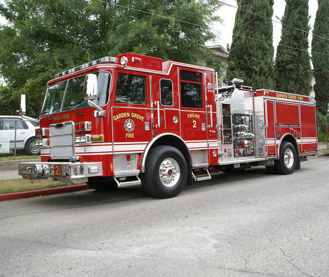 Garden Grove Ca Paid Part Time Utility Driver Fire