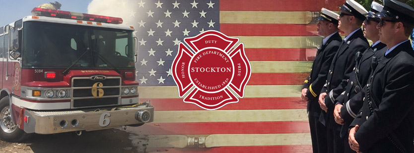 UPCOMING RECRUITMENT ANNOUNCEMENT Stockton City Fire Dept